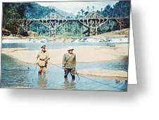 The Bridge On The River Kwai Greeting Card by Silver Screen