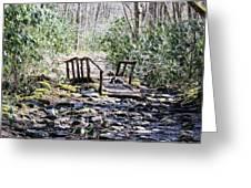 The Bridge Greeting Card by Regina McLeroy