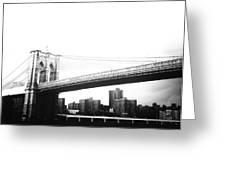 The Brooklyn Bridge Greeting Card