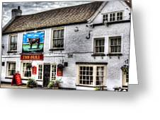The Bull Pub Theydon Bois Essex Greeting Card