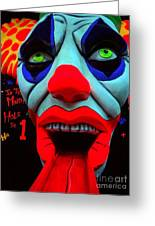 The Clown Greeting Card