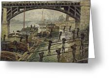 The Coalmen Greeting Card