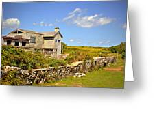 Island Farm  Greeting Card