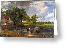 The Hay Wain Greeting Card by John Constable