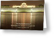 The Heartland Remembers Greeting Card