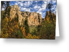 The Hills Of Sedona  Greeting Card