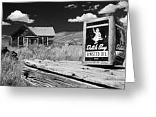 The Last Frontier - Bodie - California Greeting Card