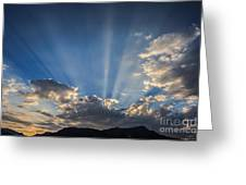 The Light Greeting Card