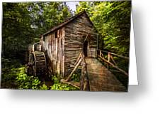 The Mill At Cades Cove Greeting Card