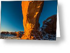 The North Window Arch Greeting Card