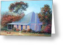 The Old Farm House Greeting Card