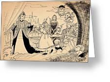 The Palace Balcony Greeting Card