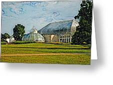 The Phipps Artistic Brush Greeting Card