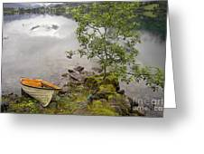 The Rowing Boat Greeting Card
