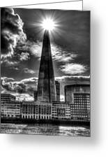 The Shard And South Bank Greeting Card
