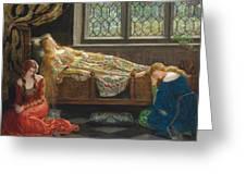 The Sleeping Beauty Greeting Card