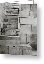 The Stairway Greeting Card