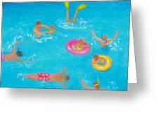 The Swimmers Greeting Card