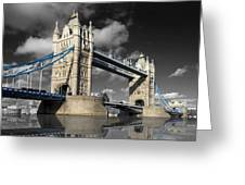 The Tower Bridge Greeting Card