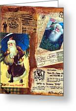 There Is A Santa Claus Greeting Card