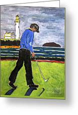 Tom Watson Turnberry 2009 Greeting Card