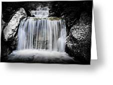 2 Tone Waterfall Greeting Card