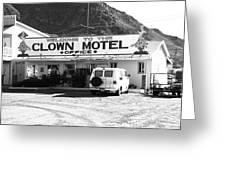 Tonopah Nevada - Clown Motel Greeting Card