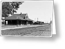 Toppenish Train Station Greeting Card