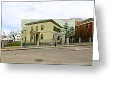 Touro Synagogue In Newport Rhode Island Greeting Card