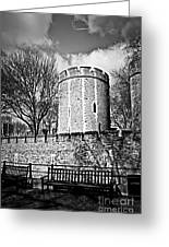 Tower Of London Greeting Card by Elena Elisseeva