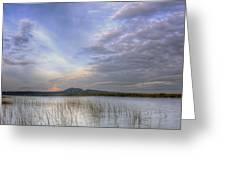 Traverse Lake Greeting Card
