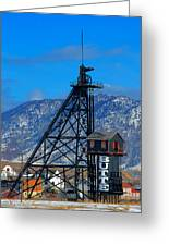 Travona Mine  Greeting Card by Kevin Bone