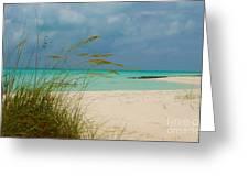 Treasure Cay Greeting Card