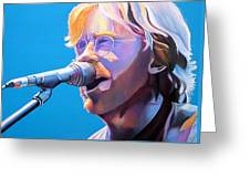 Trey Anastasio Greeting Card