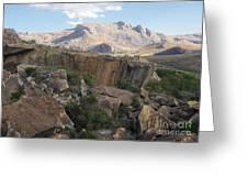 Tsaranoro Mountains Madagascar 1 Greeting Card