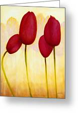 Tulips Are People Xv Greeting Card