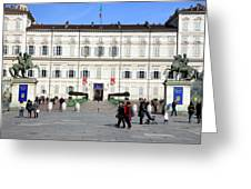 Turin Palazzo Reale Greeting Card
