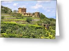 Tuscany - Montalcino Greeting Card