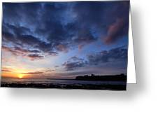 Tynemouth Sunrise Greeting Card