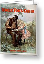 Uncle Toms Cabin, C1899 Greeting Card
