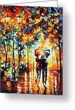 Under One Umbrella Greeting Card