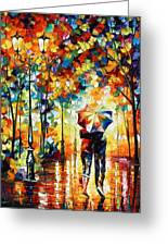 Under One Umbrella Greeting Card