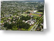 University Of Puget Sound U.p.s., Tacoma Greeting Card