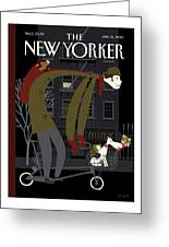 New Yorker January 18th, 2010 Greeting Card