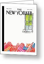 New Yorker July 4th, 2011 Greeting Card