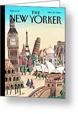 New Yorker April 20th, 2009 Greeting Card