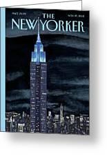 New Yorker November 19th, 2012 Greeting Card