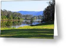 Up Brisbane River Greeting Card