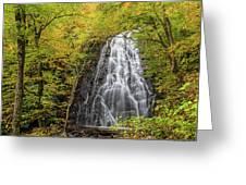 Usa, North Carolina, Blue Ridge Parkway Greeting Card
