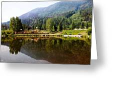 Vail Reflections Greeting Card